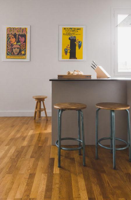 Mojo - Rénovation complète d'un appartement à Lyon